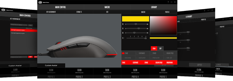 Cooler Master MasterMouse Software