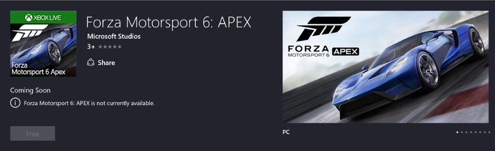 ForzaApexPCBeta