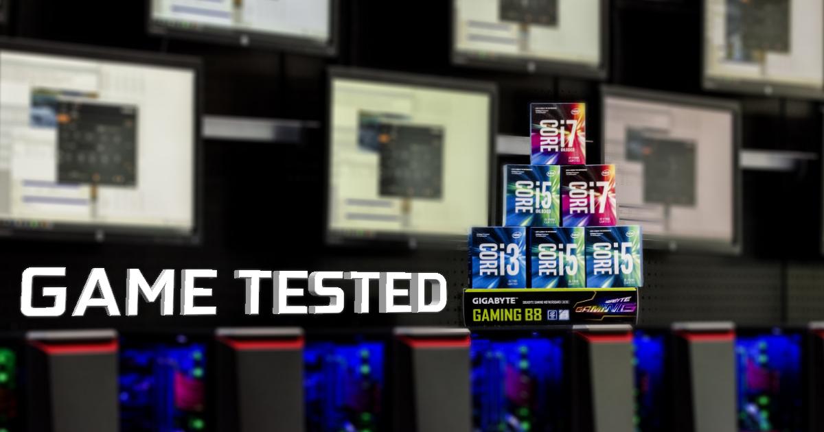 GGPC Intel Kaby Lake Gameplay FPS Tests