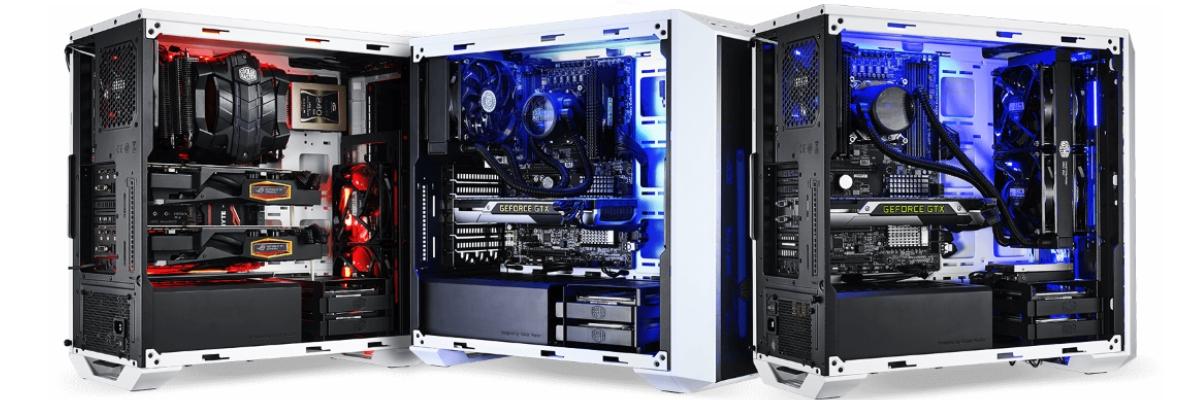 GGPC CM MasterBox 5 Dark Mirror Multiple Custom Builds