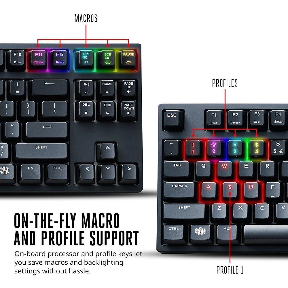 GGPC CM Masterkey Gaming Keyboard Macro Profiles
