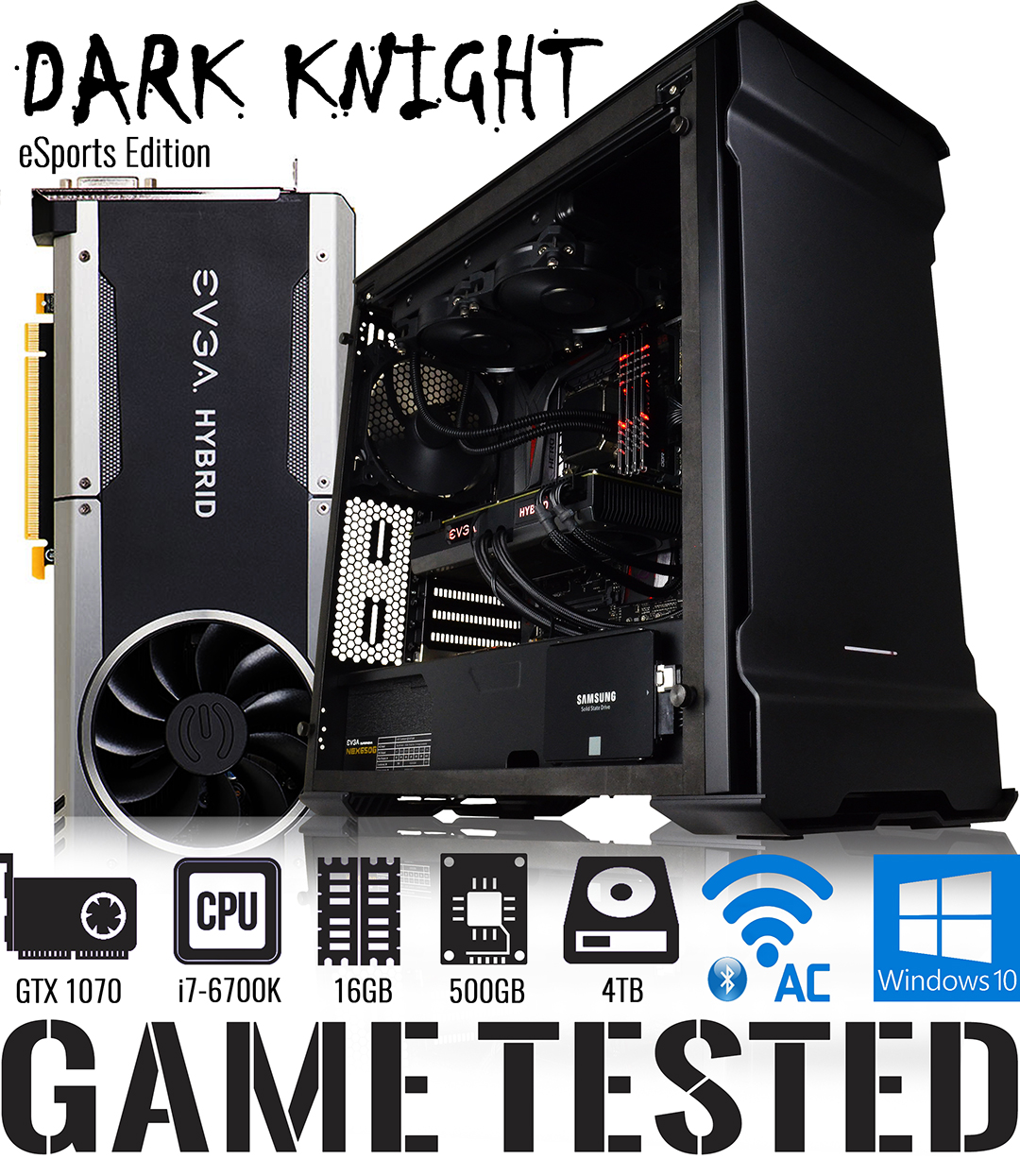 GGPC DARK KNIGHT GAMING PC