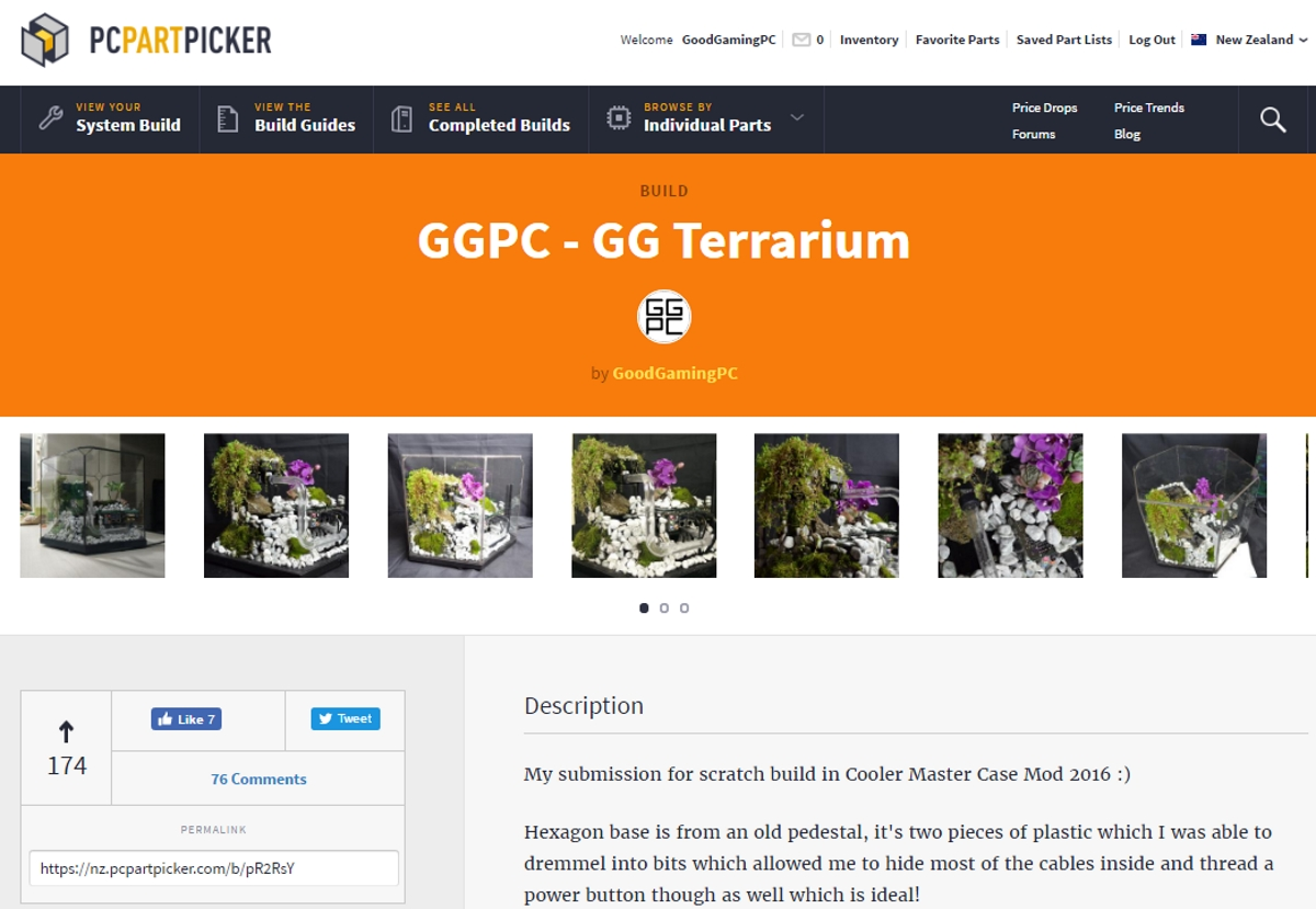 GGPC GG Terrarium Custom PC NZ