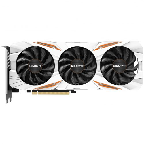 GGPC Gigabyte Gaming OC Orange and White GTX 1080Ti Graphics Card