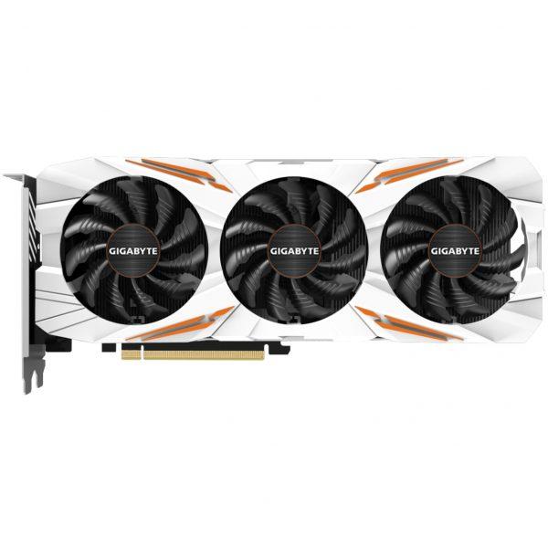 GGPC Gigabyte Gaming OC Orange and White GTX 1080Ti Graphics Card