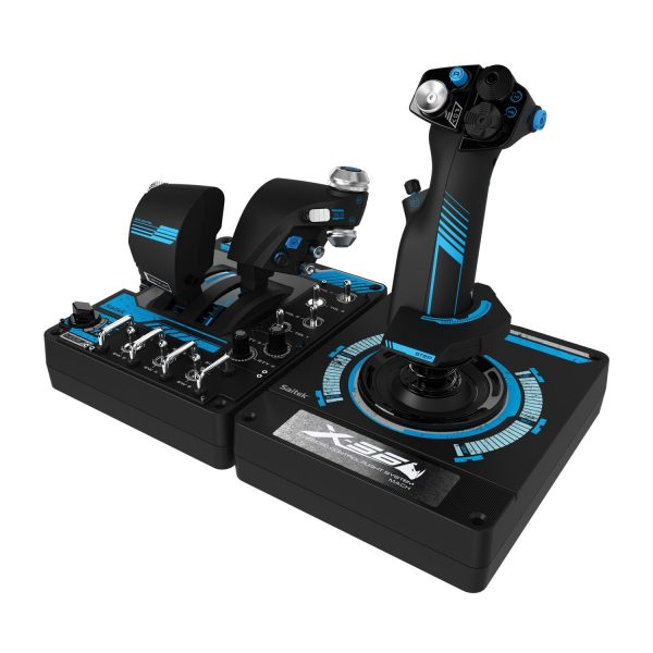 GGPC Logitech Saitek Rhino Flightsim Controller with Dual Throttle