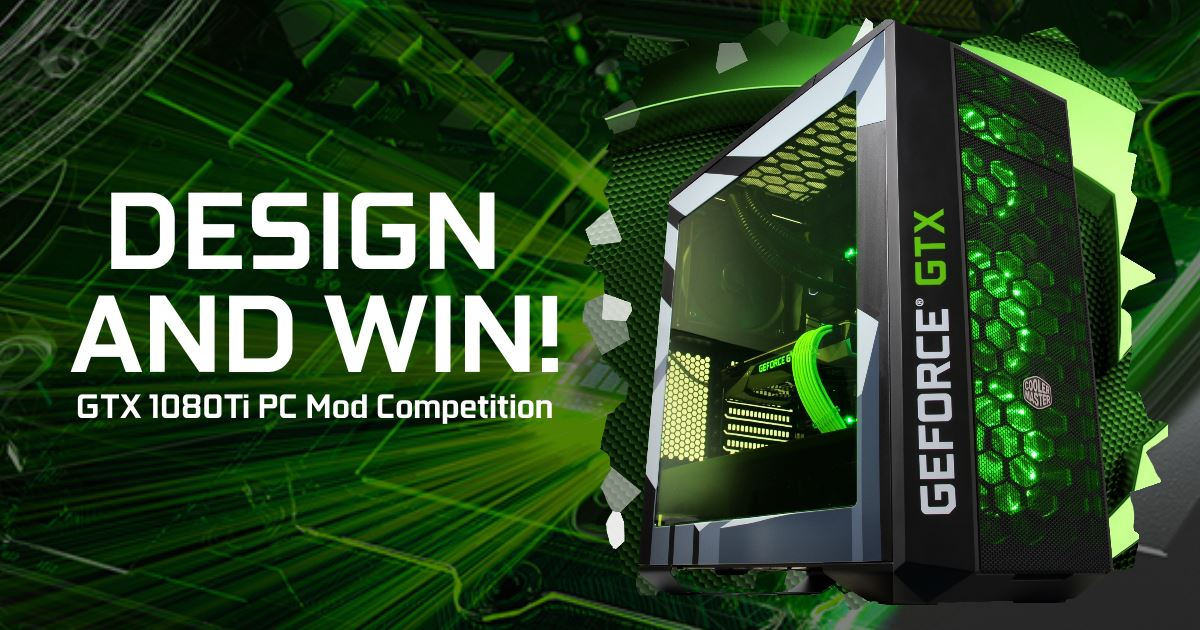 GGPC Nvidia GTX 1080Ti Design Competition now on