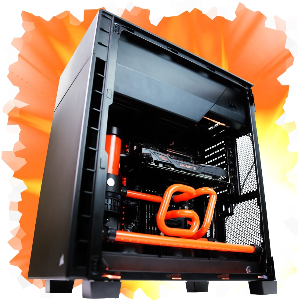 Corsair 400C Inverted Chassis