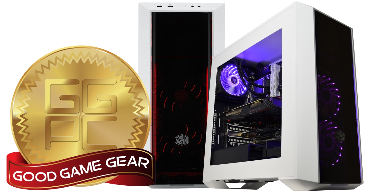 GGPC Recommends Cooler Master MasterBox 5 Dark Mirror Gaming PC Case