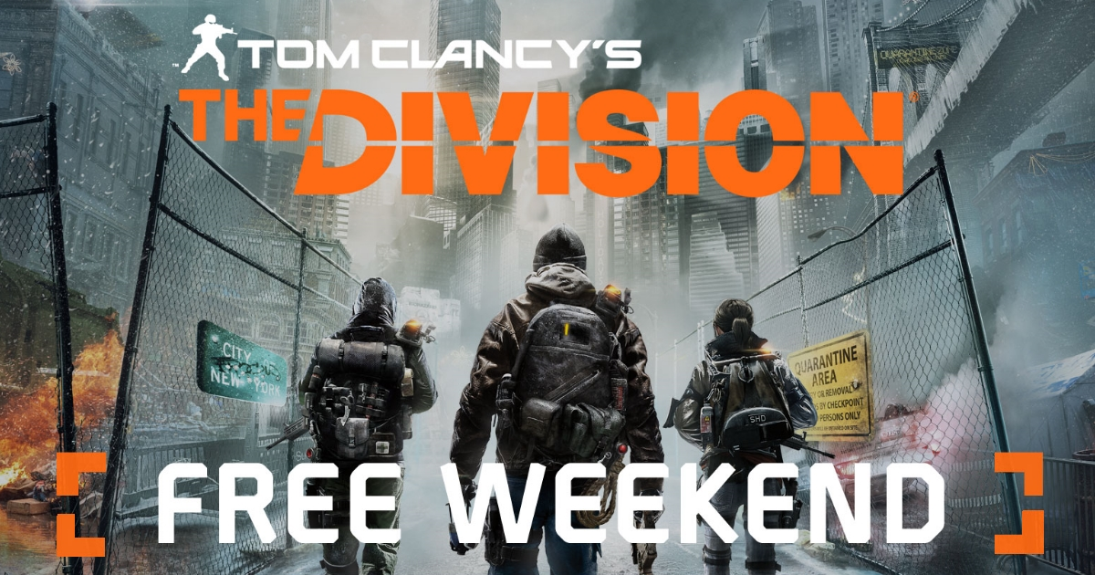 GGPC The Division Free Weekend