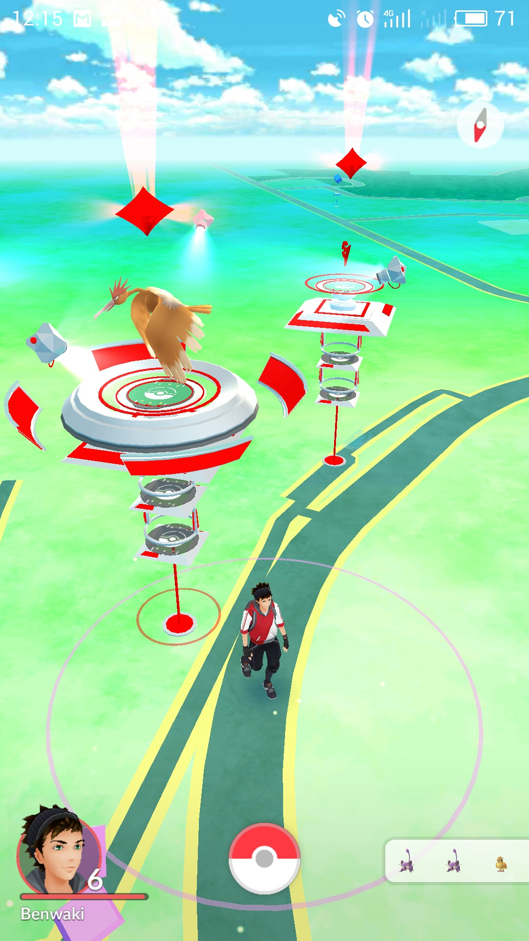pokemon go how to use special attacks in gym battles