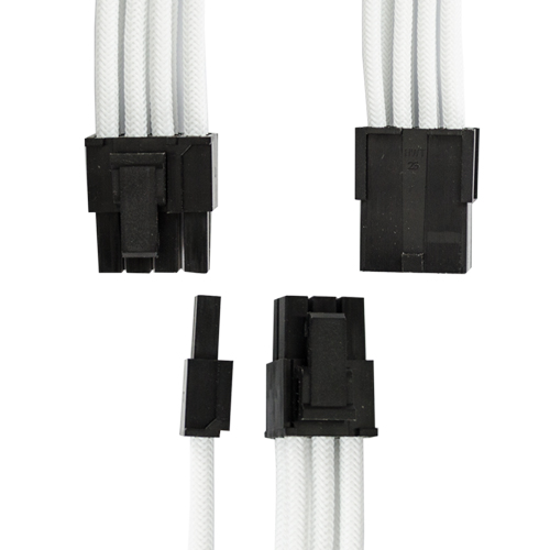 GGPC White Braided Graphics Card Cable NZ