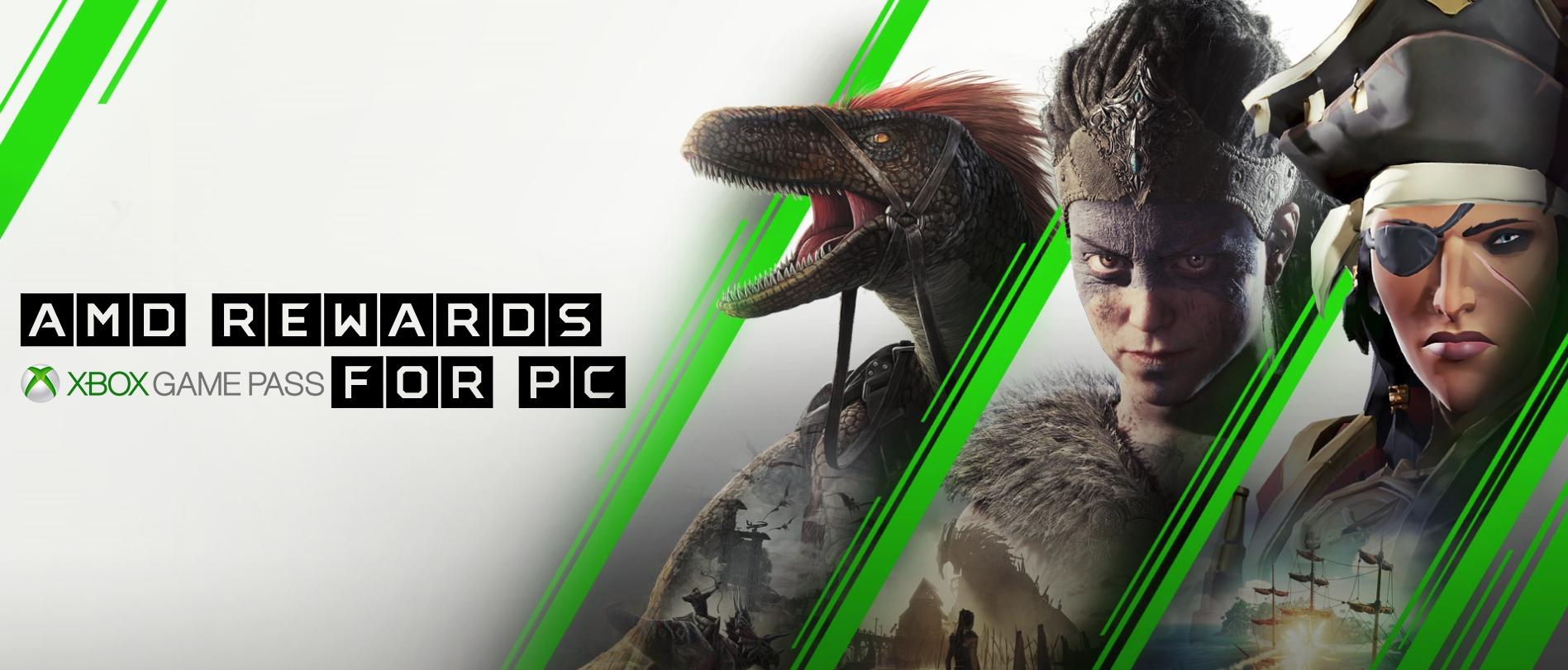 AMD REWARDS – Xbox Game Pass for PC BONUS! | GGPC