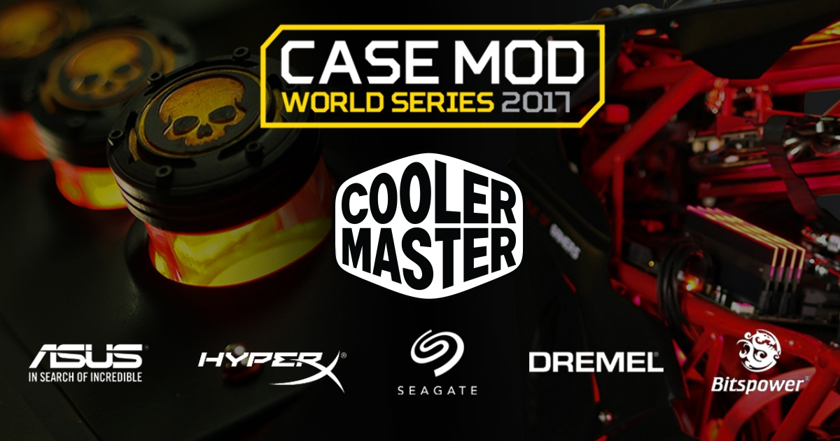 GGPC Cooler Master CaseMod 2017 ANZ Series