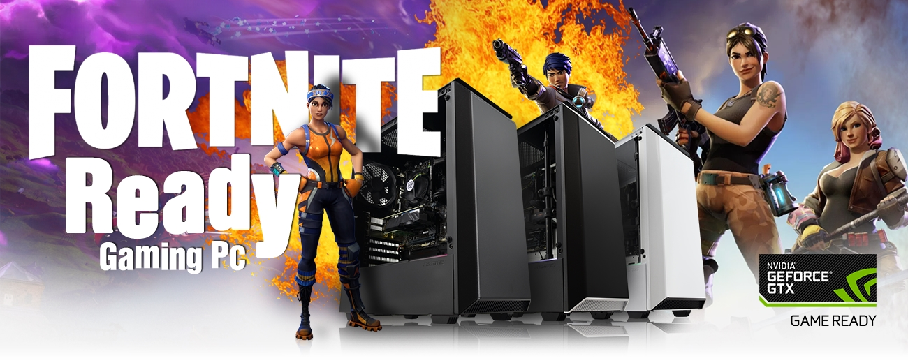 New Fortnite Ready Nvidia Gaming PC | GGPC
