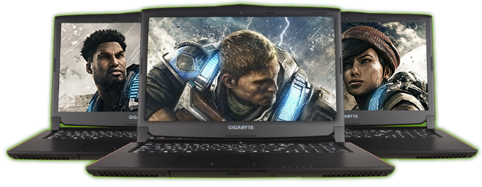 GGPC GIGABYTE GTX 1070 LAPTOP NEVER FIGHT ALONE