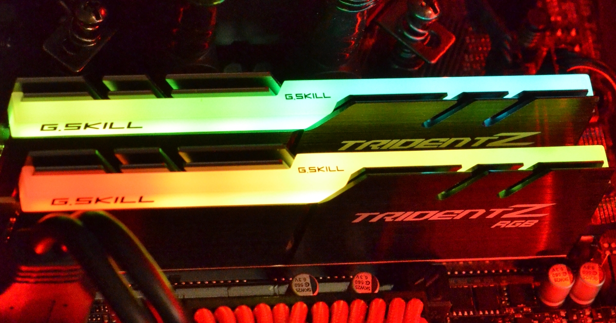 GGPC GSkill RGB RAM NZ