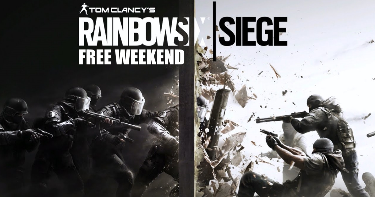 GGPC Rainbow 6 Siege PC Free Weekend