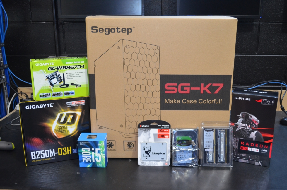GGPC Segotep Custom Gaming PC Build