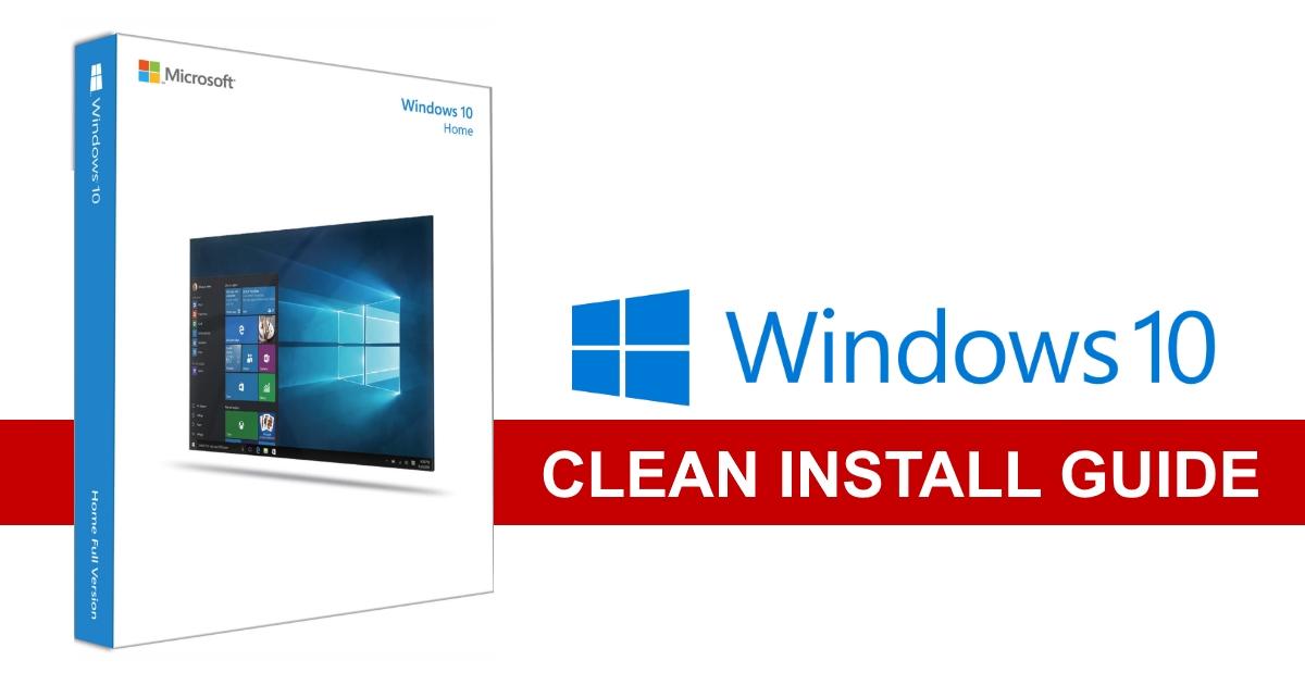Good PC – Windows 10 Retail USB Clean Install Guide | GGPC