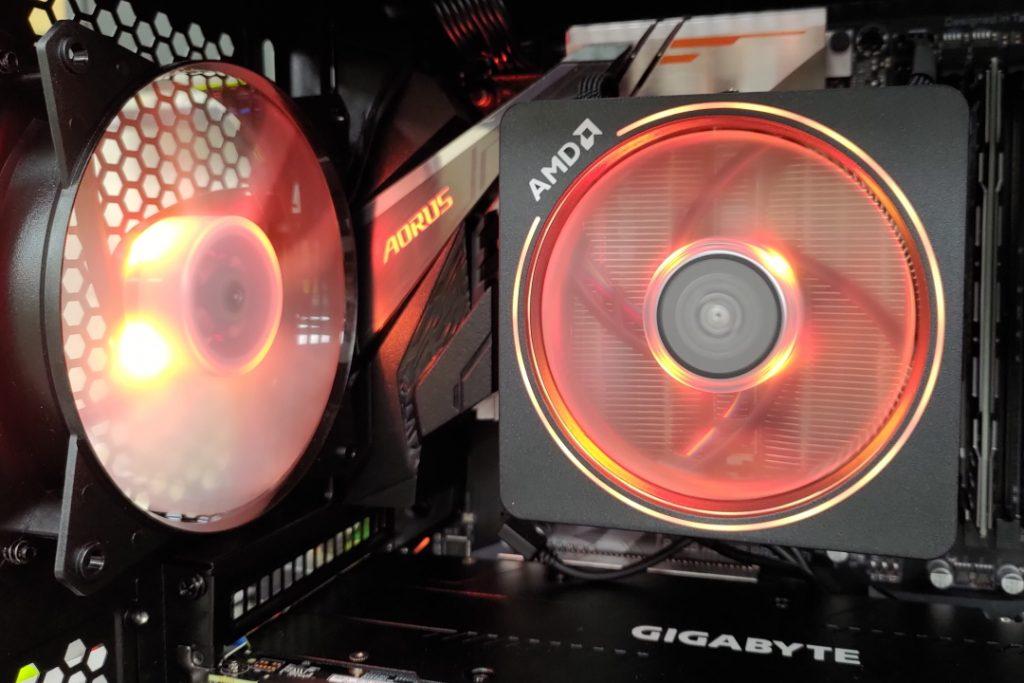 Amd Wraith Prism Rgb Cooler Setup Software Ggpc